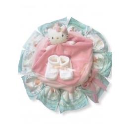 adeau bébé : le gateau de couches